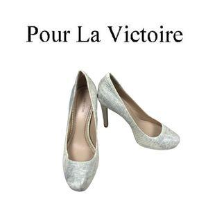 Pour La Victoire High Heel Shoes. Sz 10